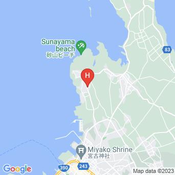 Diver's inn Kenさんちの地図