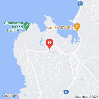 ゲストハウス UmiOto宮古島の地図
