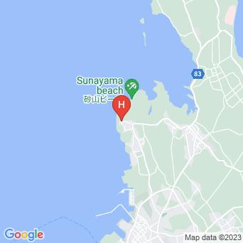島宿うぷらうさぎの地図
