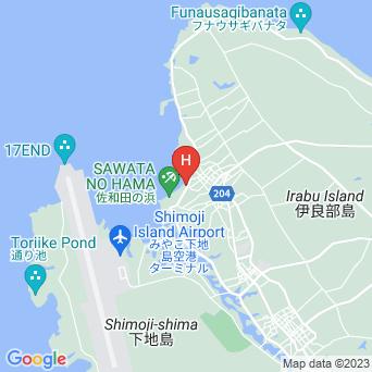 フェリスヴィラスイート伊良部・佐和田の地図