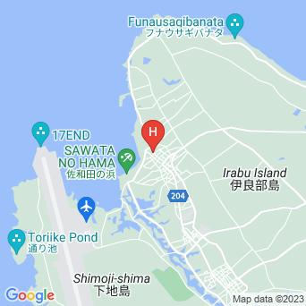 GUEST HOUSE nesouの地図