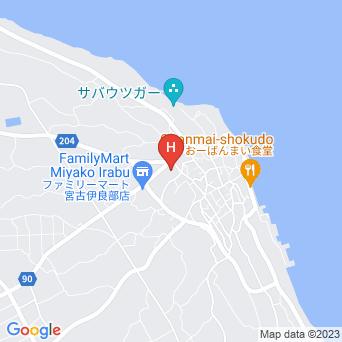 アイランドリゾート イラブヴィラ/irabuvillaの地図