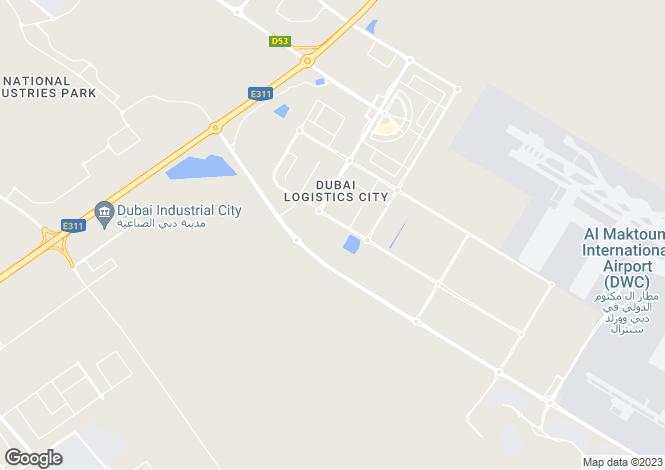 Map for Dubai