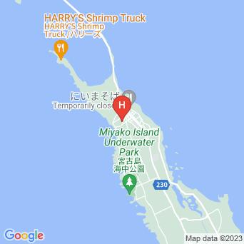 宮古島南国民宿 プキの家の地図