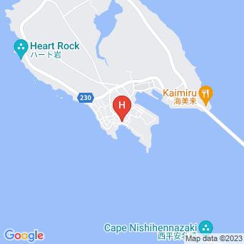 民宿あいたい長浜の地図