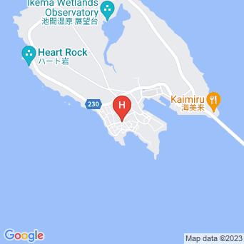 勝連荘の地図