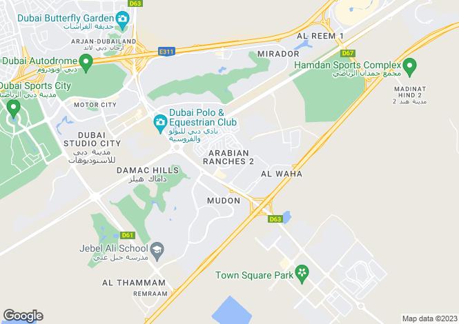 Map for Mina Jebel Ali