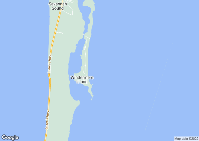 Map for Eleuthera
