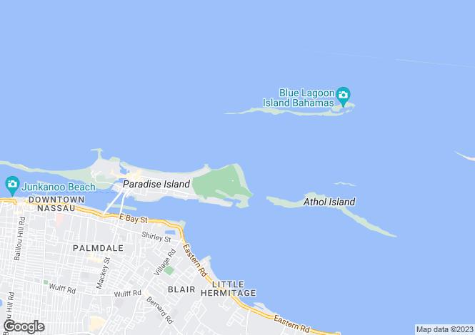 Map for Tuscan Style Villa, Ocean Club, Paradise Island