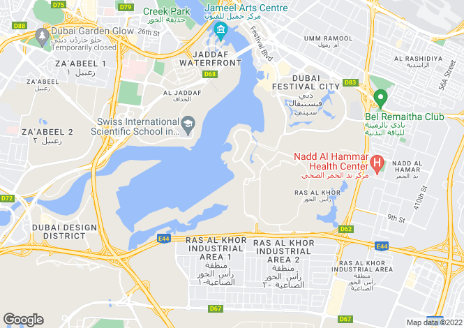 Map for Dubai