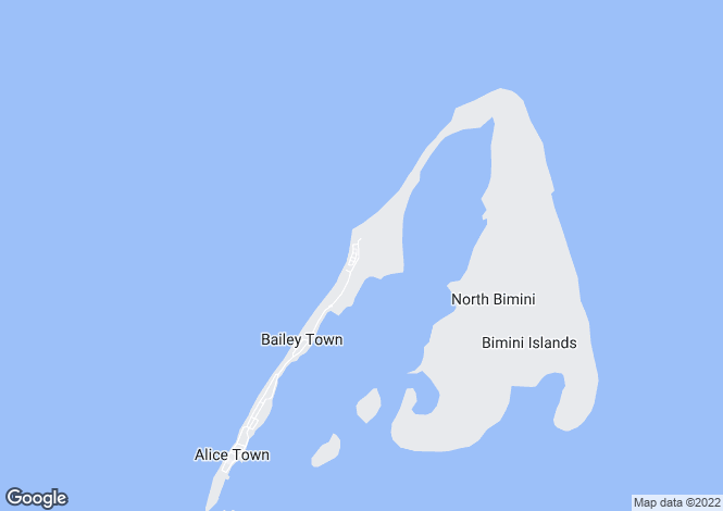 Map for The Bahamas