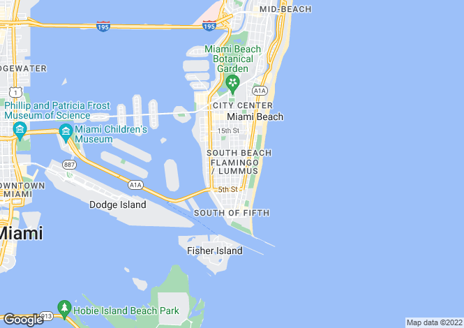 Map for Miami Beach
