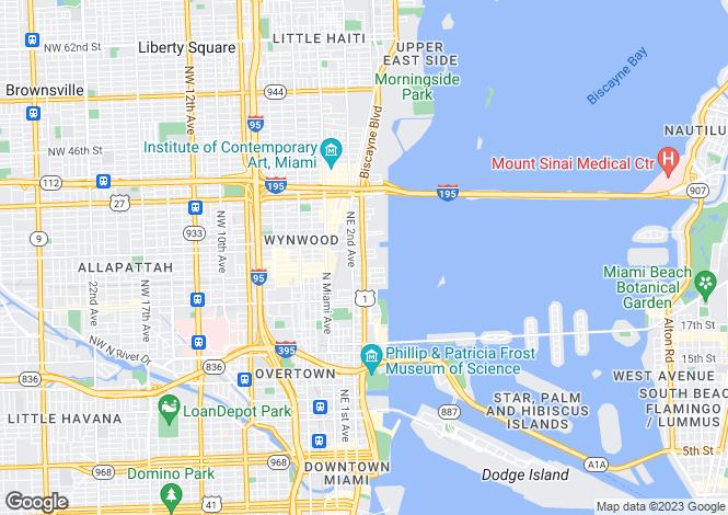 Map for Miami Beach