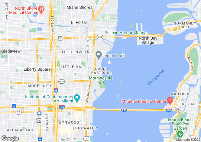 Map for Luxury Residences, Miami