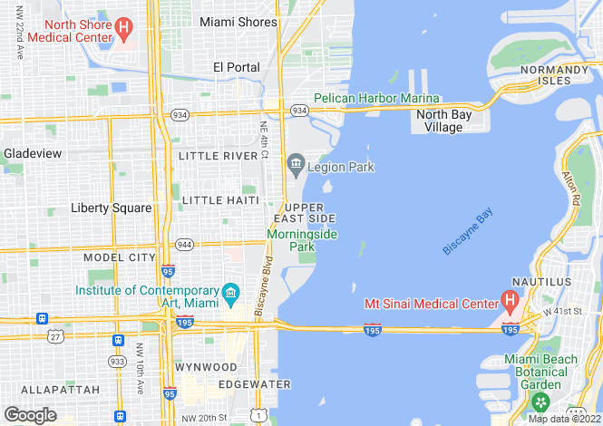 Map for Luxury Residences, Miami