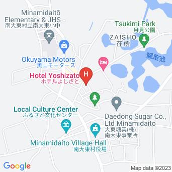 ホテルよしざとの地図