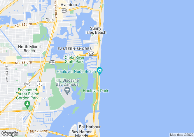Map for The Ritz-Carlton Residences, 15801 Collins Ave, Sunny Isles Beach, Florida