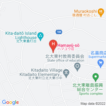 ハマユウ荘うふあがり島の地図