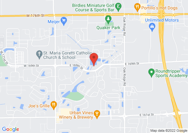 Map of 250 E 169th St, Westfield, IN, USA