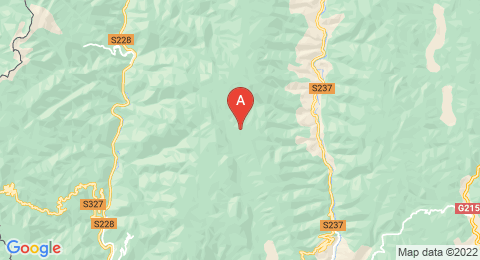 map of Laojun Mountain (China)