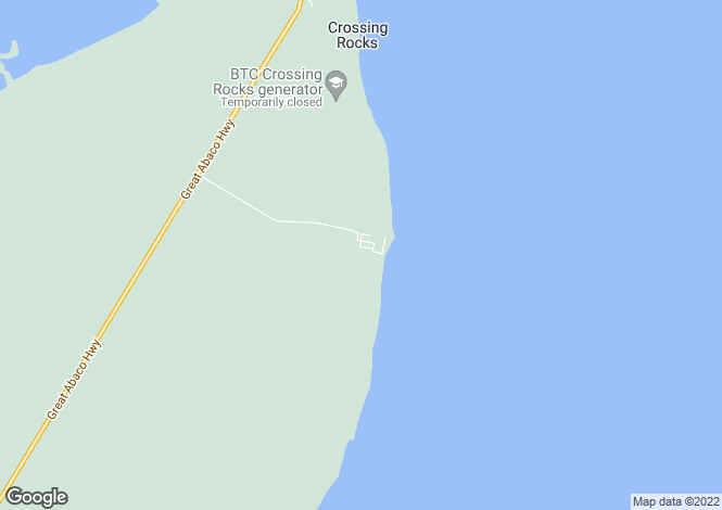 Map for Schooner Bay Village, South Abaco