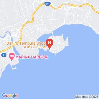 海の家 あけぼの荘の地図