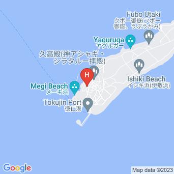 久高島簡易郵便局宿泊所の地図