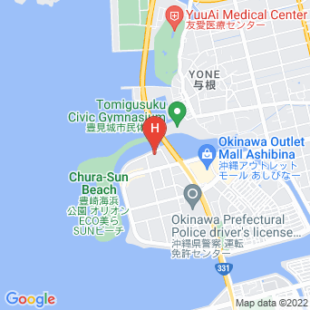 ホテルグランビューガーデン沖縄の地図