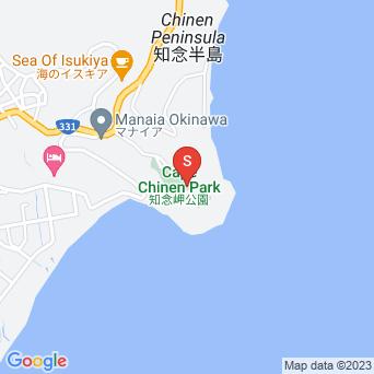 知念岬公園の地図