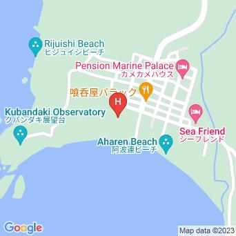 民宿星砂荘の地図