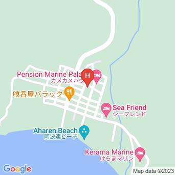民宿けらま荘の地図