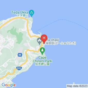 ホテルサンライズ知念の地図