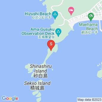 砂白島の地図