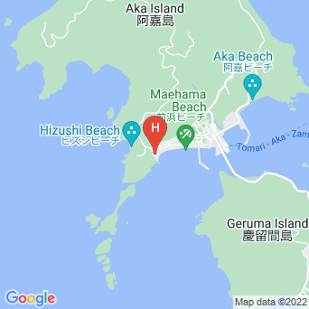 民宿海あしびの地図