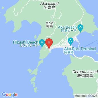 民宿かでなの地図