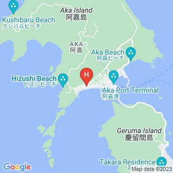 民宿ウエストコーストの地図
