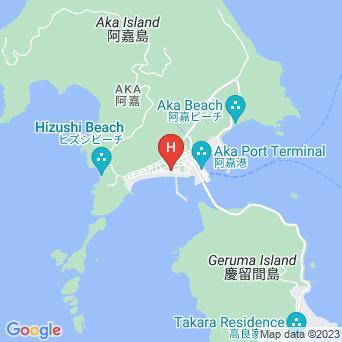 ダイビングサービス&民宿宝生の地図
