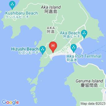 民宿&ダイビングサービス 阿嘉島あかさの地図