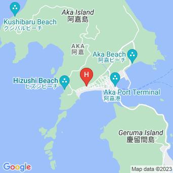 民宿春海の地図