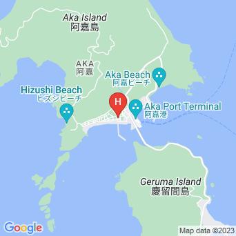 ハナムロイン阿嘉島の地図