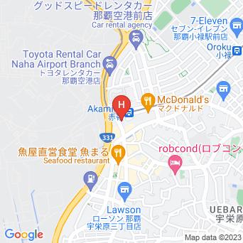 ホテルグランビュー沖縄の地図