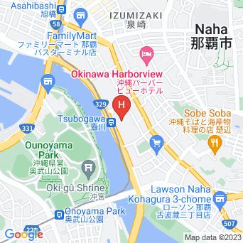 メルキュールホテル沖縄那覇の地図