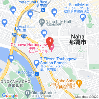ANAクラウンプラザホテル沖縄ハーバービューの地図