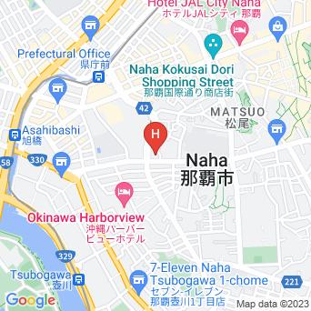 沖縄レインボーホテルの地図