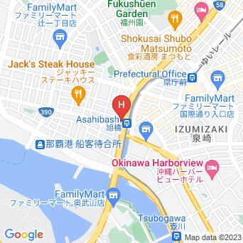 ダブルツリーbyヒルトン那覇の地図