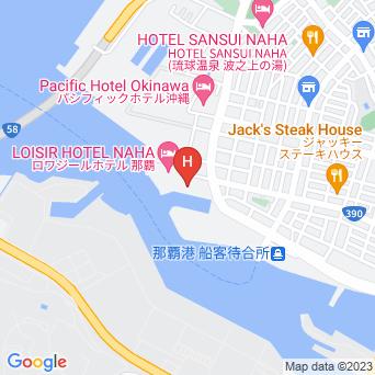 ロワジール スパタワー那覇の地図