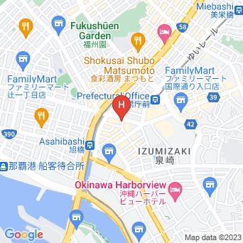 沖縄かりゆしLCH泉崎県庁前/2ndの地図