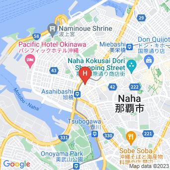 ダイワロイネットホテル沖縄県庁前の地図