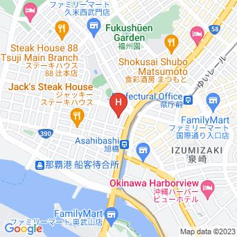琉球サンロイヤルホテルの地図