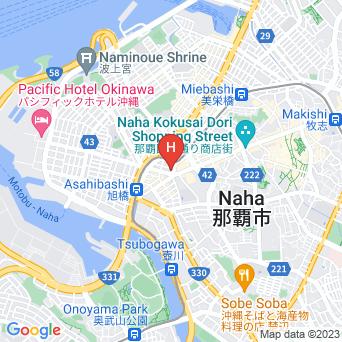 アルモントホテル那覇・県庁前の地図